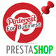 Pinterest Profile Pins for Prestashop