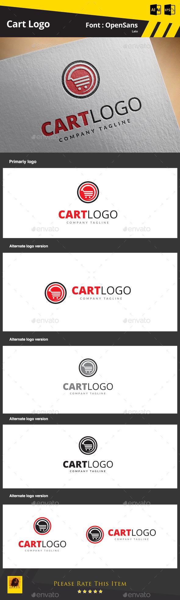 Cart Logo - Symbols Logo Templates