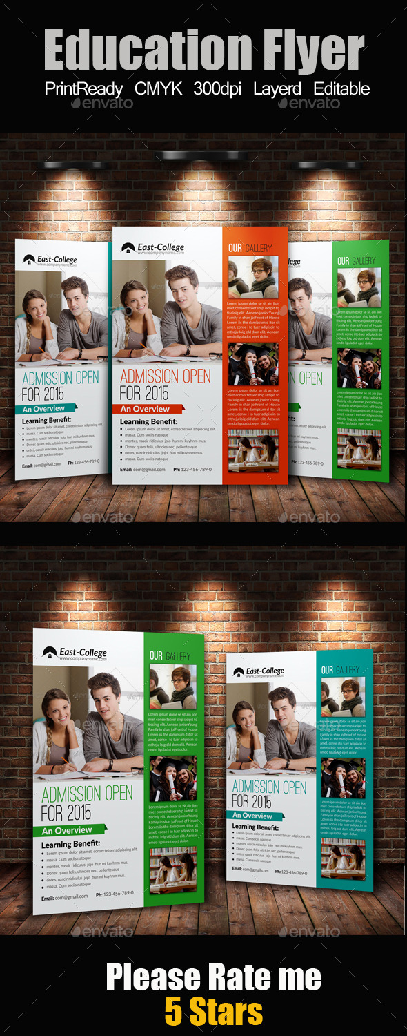 A4 education Flyer - Corporate Flyers