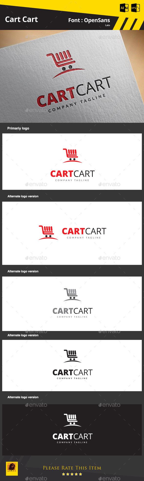 Cart Cart - Symbols Logo Templates