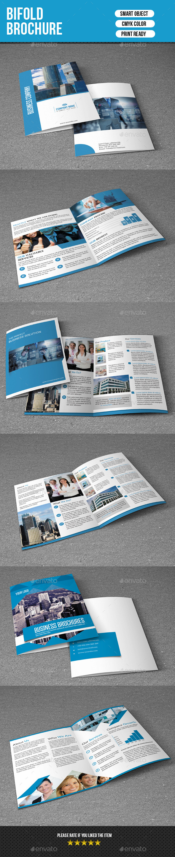 Bifold Brochure Bundle-V01 - Corporate Brochures