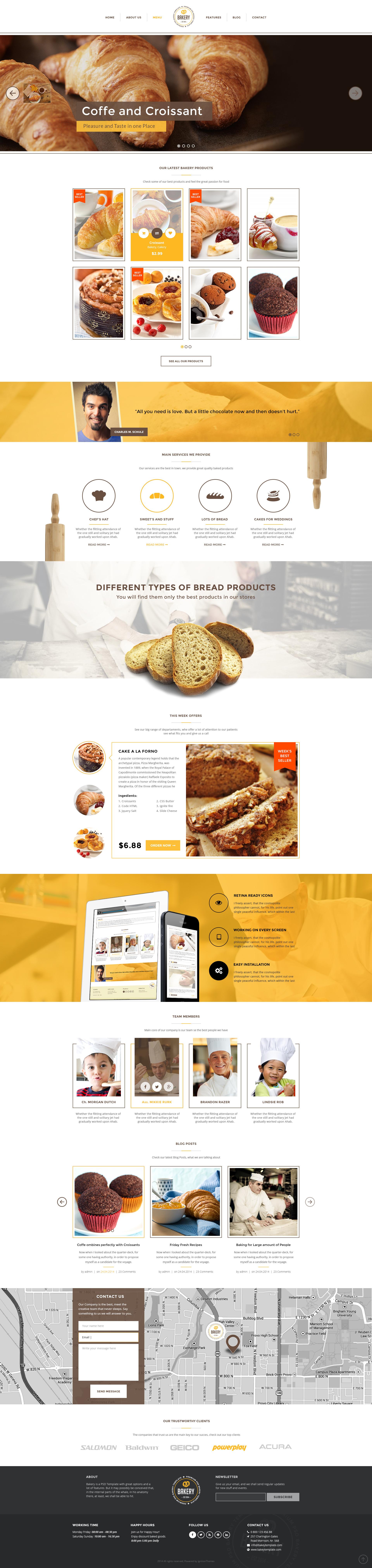 Bakery - Cakery & Bakery PSD Template by IgnitionThemes | ThemeForest