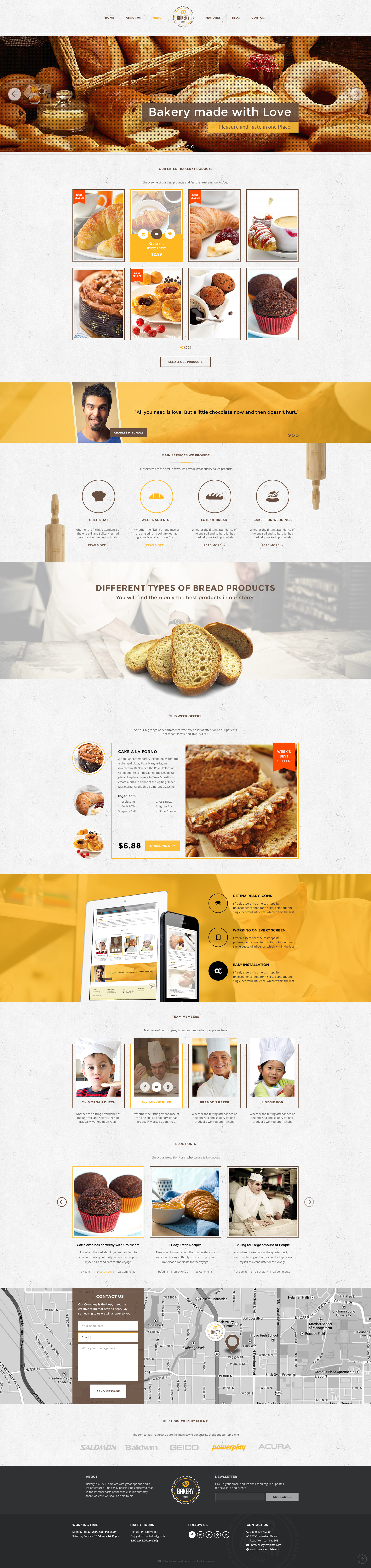 bakery template free download - Romeo.landinez.co