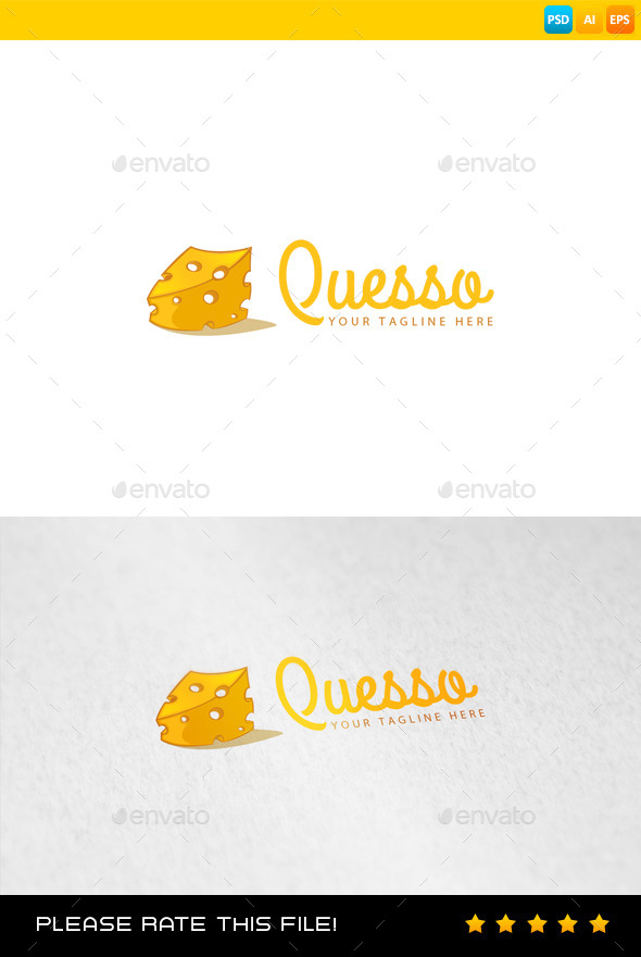 Cheese Logo - Food Logo Templates