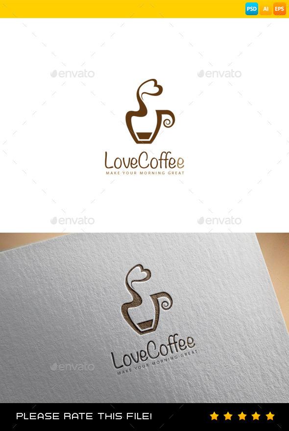 Coffee Logo - Vector Abstract