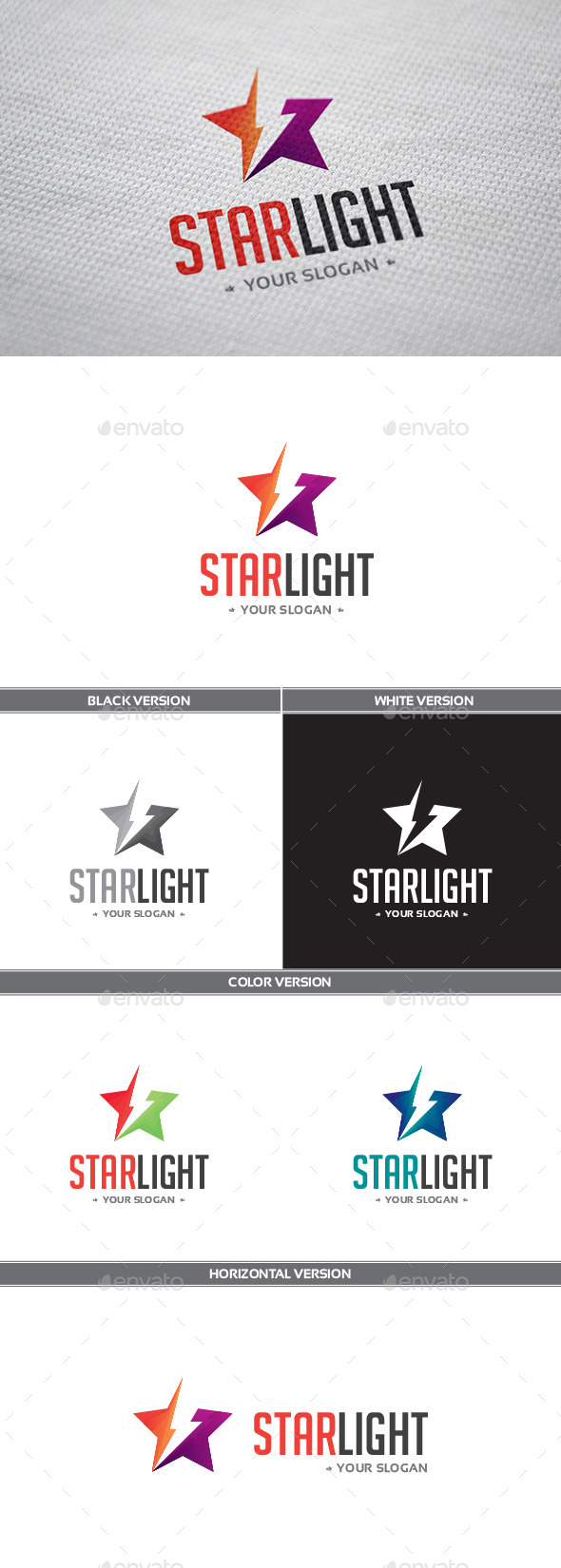 Starlight Logo - Objects Logo Templates