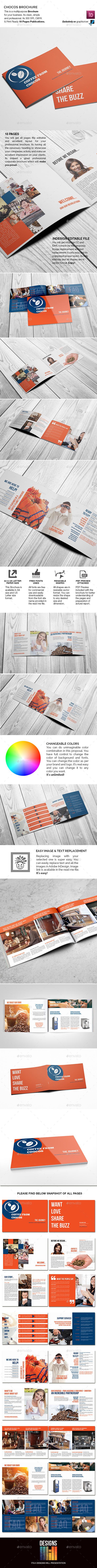 Chocos Landscape Brochure - Informational Brochures