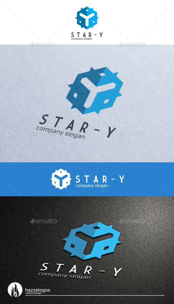 Star Y Logo - Letters Logo Templates