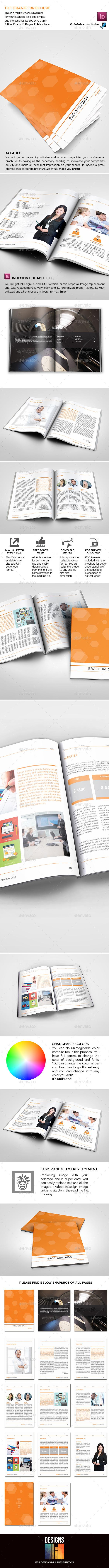 The Orange Brochure - Corporate Brochures