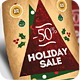 Retro Christmas Flyers Template PSD - GraphicRiver Item for Sale