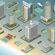 Isometric Seaside Buildings - GraphicRiver Item for Sale
