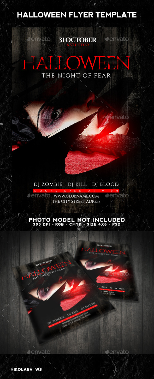 Halloween Flyer - Clubs & Parties Events