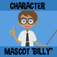 Multipurpose Cartoon Character Mascot Billy - GraphicRiver Item for Sale