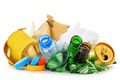 Recyclable garbage consisting of glass plastic metal and paper - PhotoDune Item for Sale