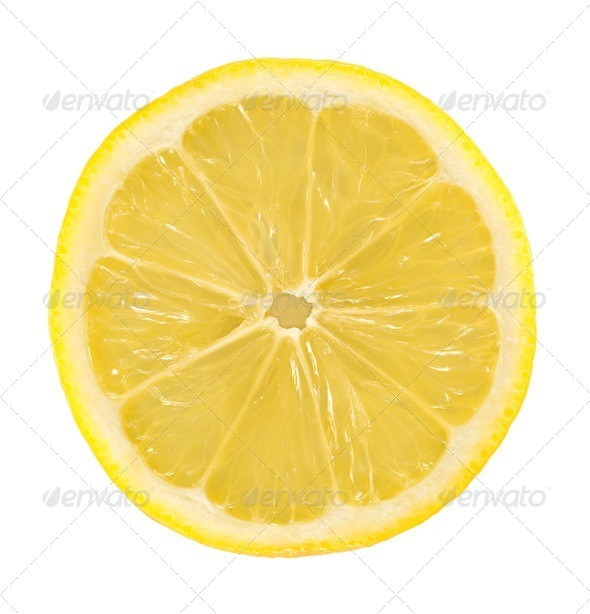 Lemon Slice - Stock Photo - Images