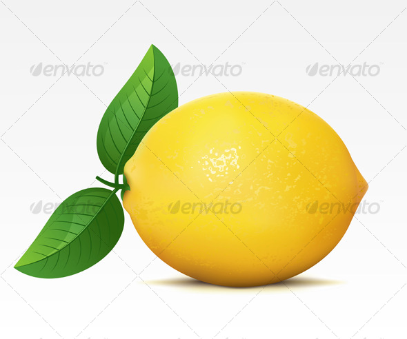 Lemon - Food Objects