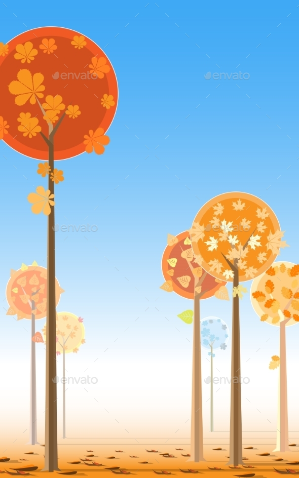 Autumn Trees - Seasons Nature