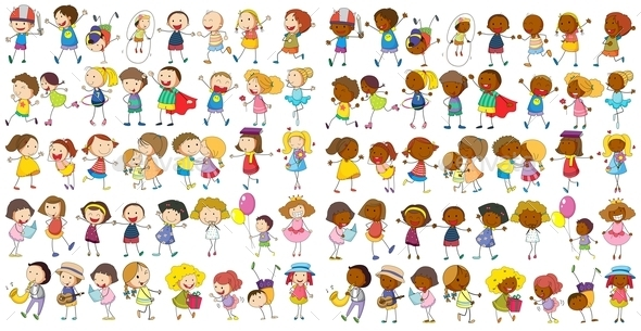 Children Cultural - People Characters