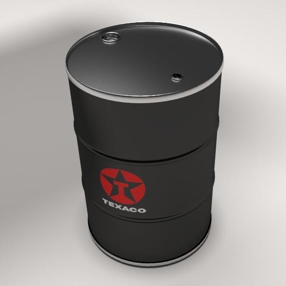 Oil Drum - 3DOcean Item for Sale