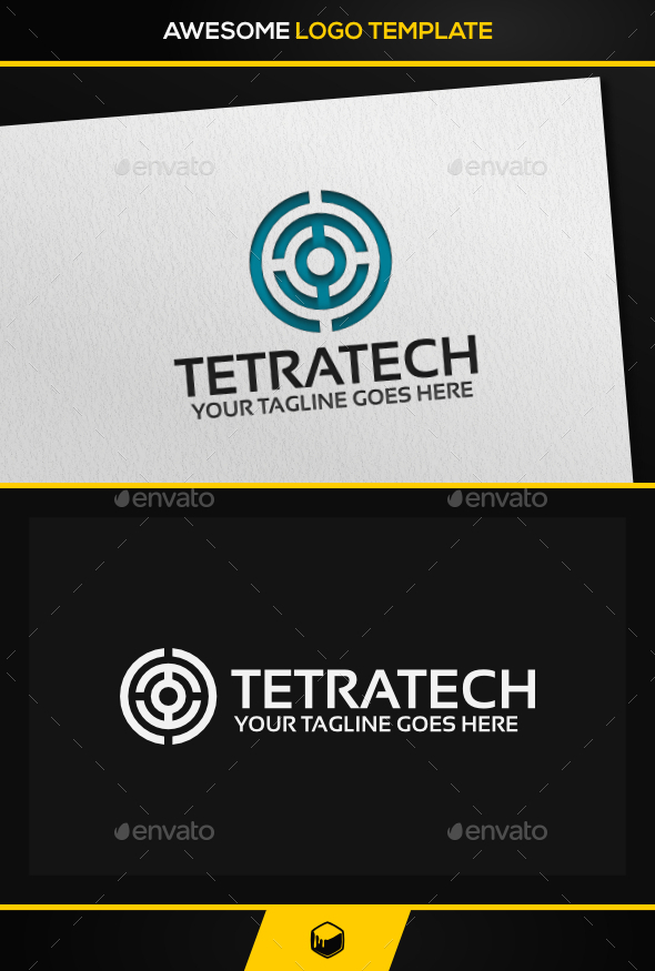 Tetra Tech Logo - Vector Abstract