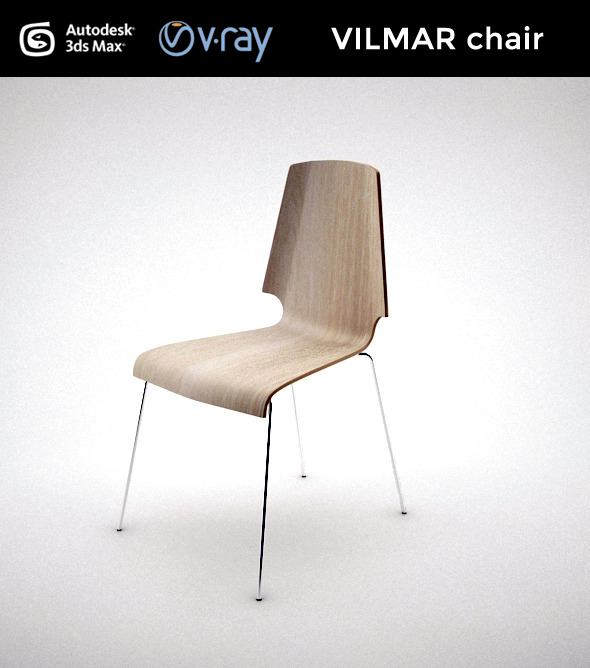 VILMAR chair - 3DOcean Item for Sale
