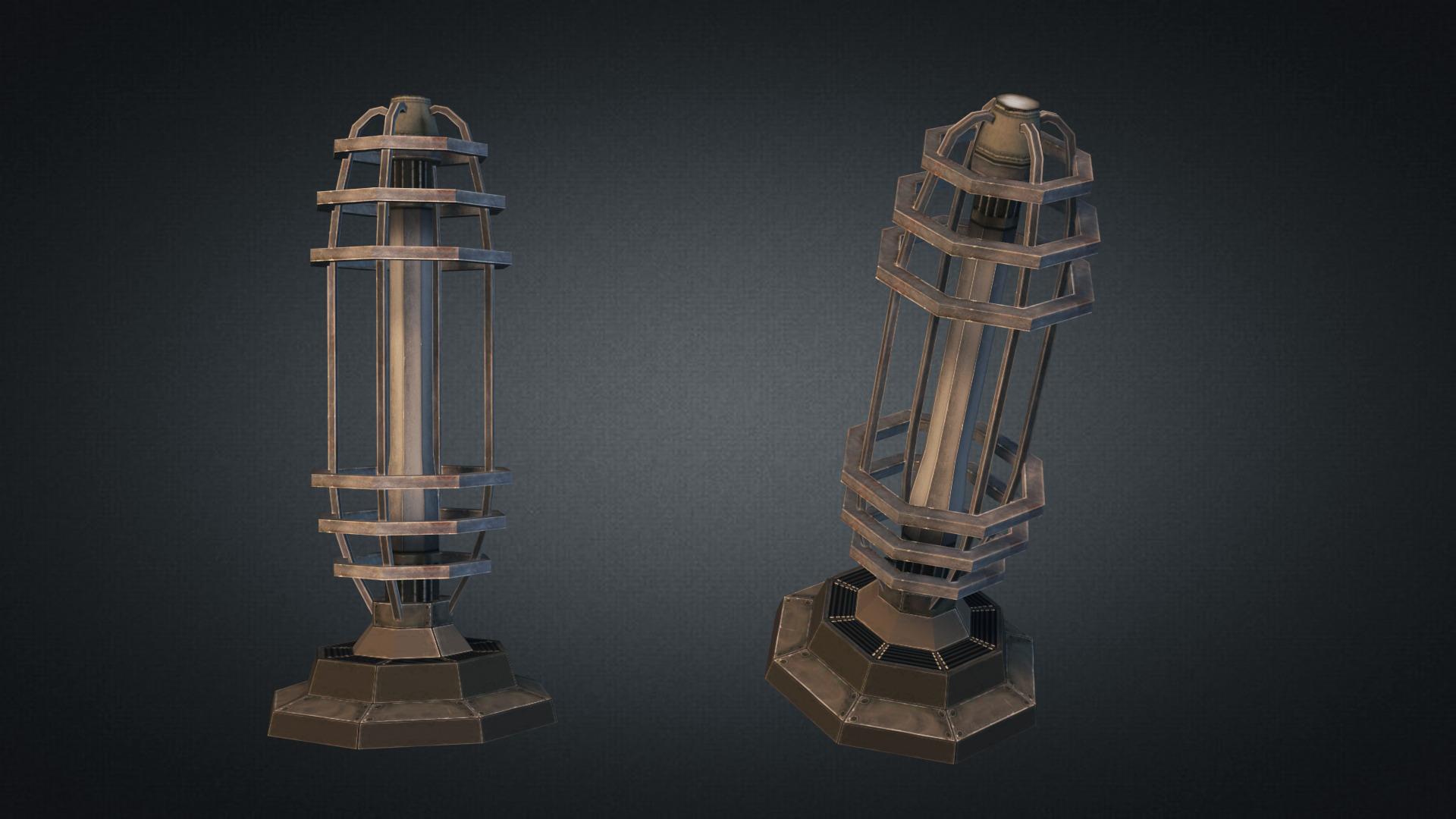 Tesla Coil Turret By Sickleadzdk 3docean