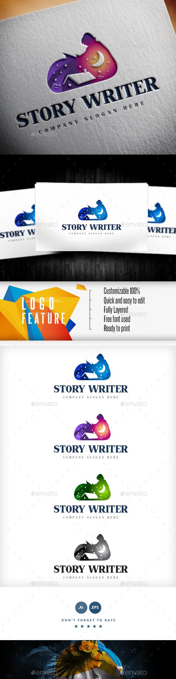 Story Writer Logo - Logo Templates