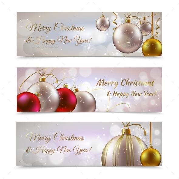 Christmas Banners Horizontal - Christmas Seasons/Holidays