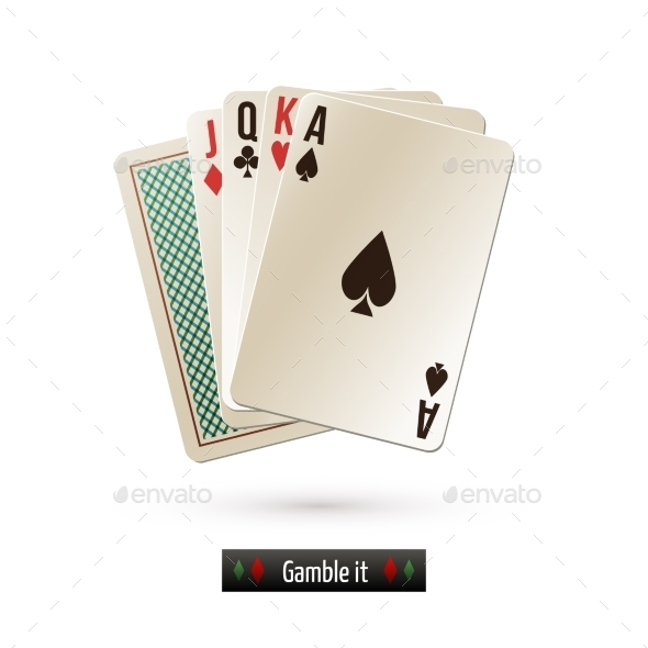 Game Cards Isolated - Miscellaneous Vectors