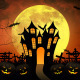 Halloween Night Backgrounds Pack - VideoHive Item for Sale