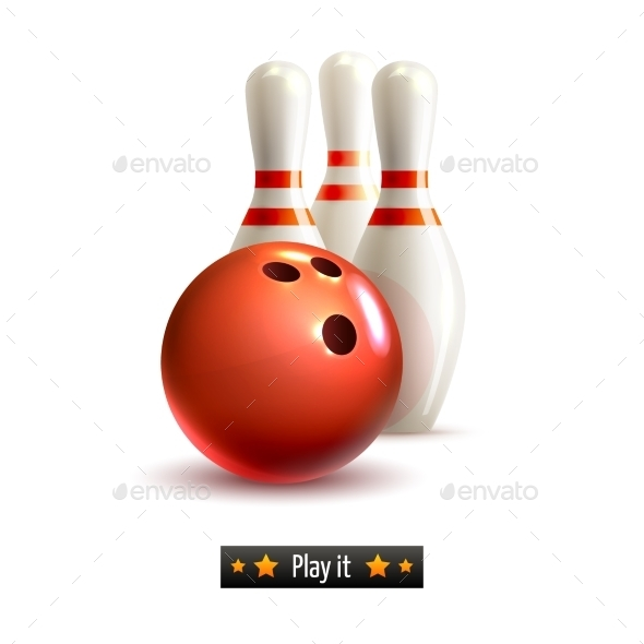 Bowling Isolated Set - Miscellaneous Vectors