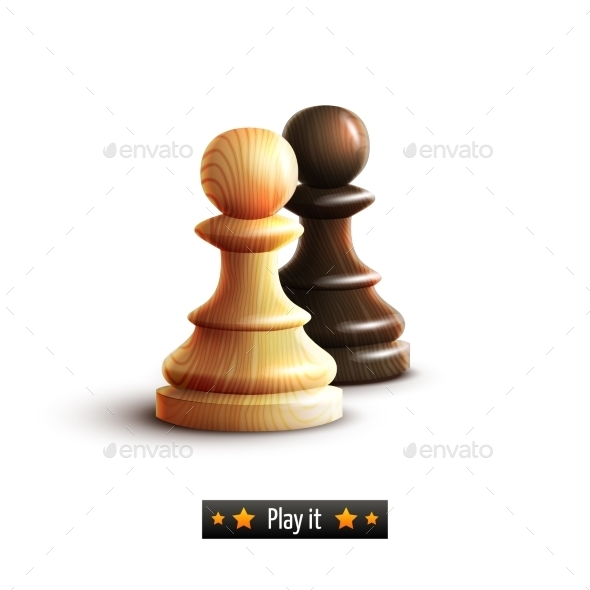 Chess Pawns Isolated - Miscellaneous Vectors