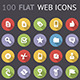 Flat Web Interface Icons - GraphicRiver Item for Sale