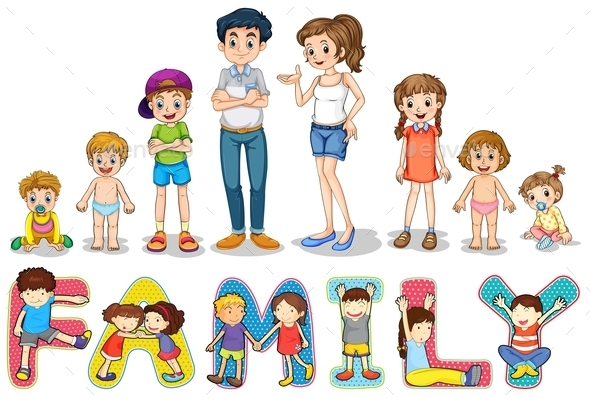 Family - People Characters