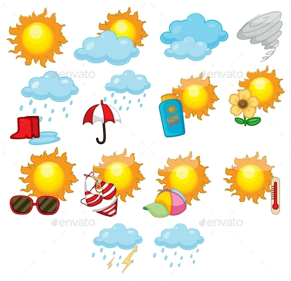 Weather Icons - Seasons Nature