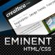 Iconic, a bold new professional web layout. - 25