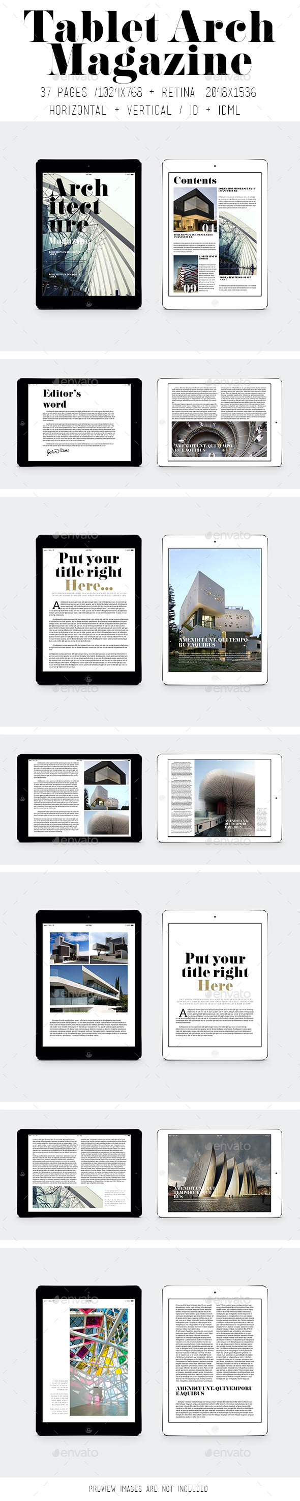 iPad & Tablet Arch Magazine - Digital Magazines ePublishing
