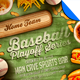 Baseball Playoff Series Flyer Template - GraphicRiver Item for Sale