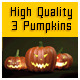 Three Pumpkins High definition