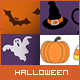 Halloween backgrounds / digital paper pack - GraphicRiver Item for Sale