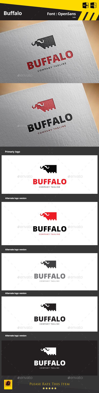 Buffalo - Animals Logo Templates