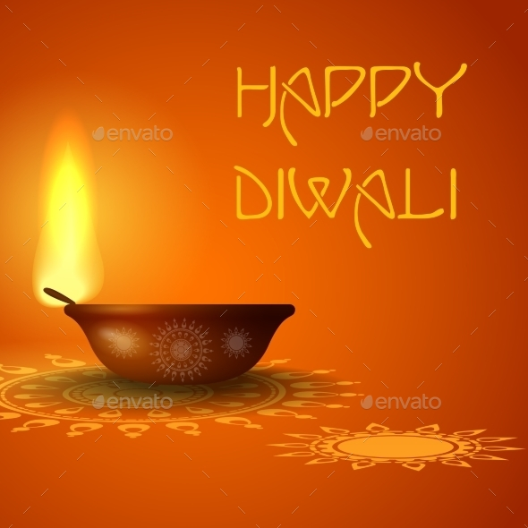 Happy Diwali Festival - Religion Conceptual