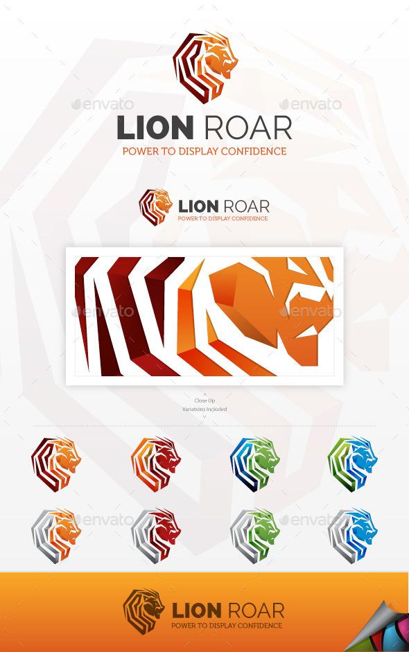 Lion Roar Logo - Animals Logo Templates