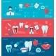 Teeth Banner Set - GraphicRiver Item for Sale