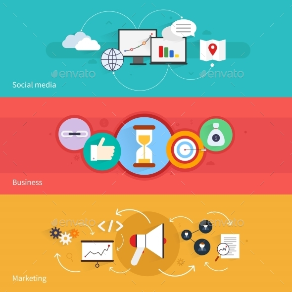 SEO Marketing Banner - Web Technology