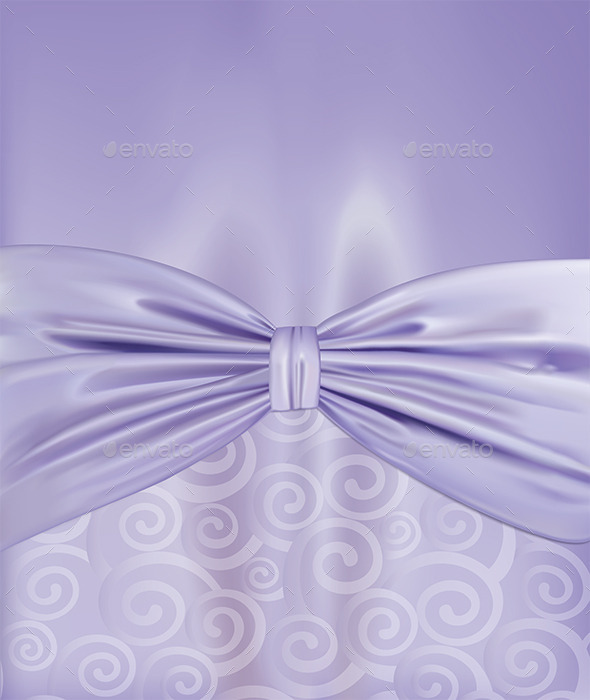 Background with a Bow - Backgrounds Decorative