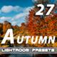 27 Autumn Lightroom Presets - GraphicRiver Item for Sale