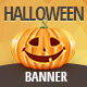 Happy Halloween Banner - GraphicRiver Item for Sale