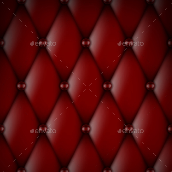 Luxury Red Leather - Backgrounds Decorative