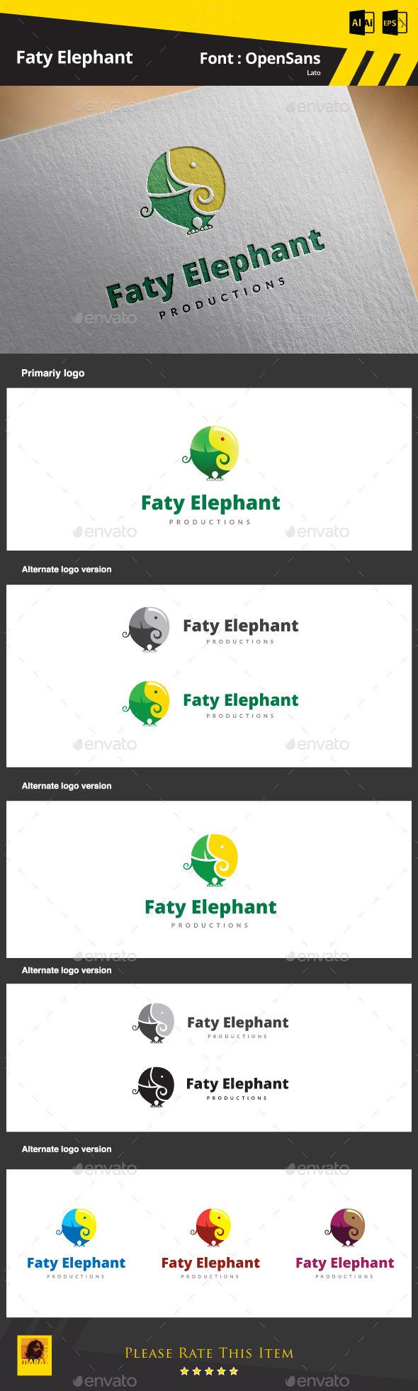 Elephant Logo - Animals Logo Templates